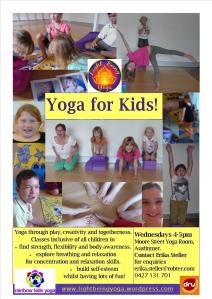 Kids Yoga Flyer
