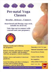 Dru Yoga Classes - Pre-natal